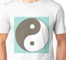 Yin and Yang - Blue Unisex T-Shirt