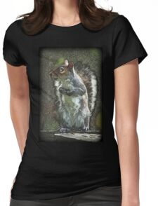 Squirrel Stance Womens Fitted T-Shirt