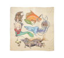 Here Fishy Fishy Fishy (Print) Scarf