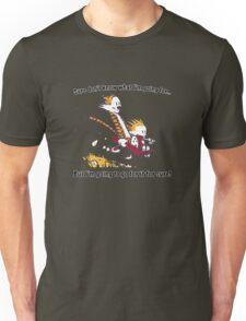 Calvin Go for it! Unisex T-Shirt