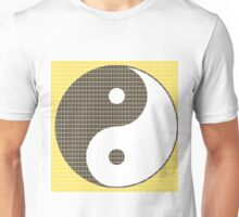 Yin and Yang - Yellow Unisex T-Shirt