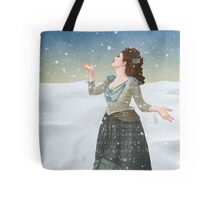 Idris in the Snow (Doctor Who) Tote Bag