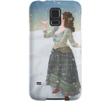 Idris in the Snow (Doctor Who) Samsung Galaxy Case/Skin