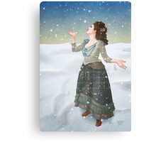 Idris in the Snow (Doctor Who) Canvas Print