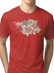 Pastel Camo Sweets Tri-blend T-Shirt