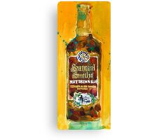 Samuel Smith Nut Brown Ale Beer Bottle Canvas Print