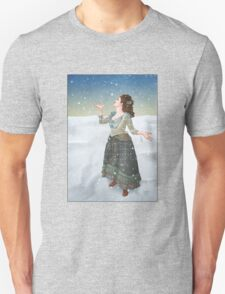 Idris in the Snow (Doctor Who) T-Shirt