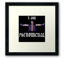 Phenomenal | AJ Styles Framed Print