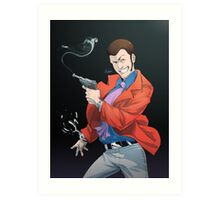 LT3 - Red Jacket Art Print
