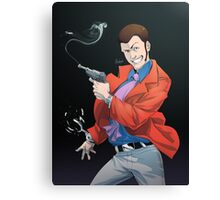 LT3 - Red Jacket Canvas Print