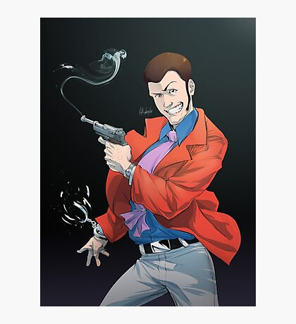 LT3 - Red Jacket Photographic Print