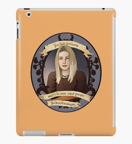 Tara - Buffy the Vampire Slayer iPad Case/Skin
