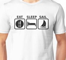 Eat Sleep Sail Unisex T-Shirt