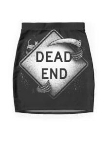 Dead End Mini Skirt