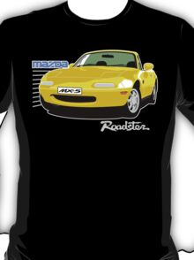 Mazda MX-5 yellow T-Shirt