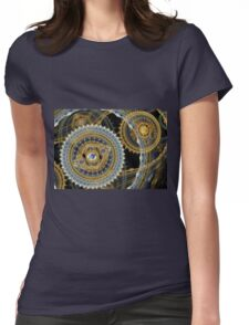 Steampunk machine Womens Fitted T-Shirt