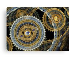 Steampunk machine Canvas Print