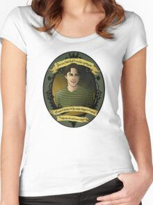 Xander - Buffy the Vampire Slayer Women's Fitted Scoop T-Shirt