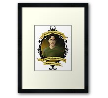 Xander - Buffy the Vampire Slayer Framed Print