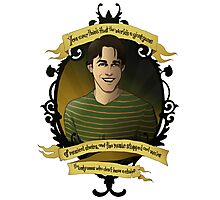 Xander - Buffy the Vampire Slayer Photographic Print