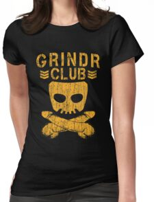 Grindr Club Womens Fitted T-Shirt