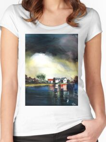 Transience Women's Fitted Scoop T-Shirt