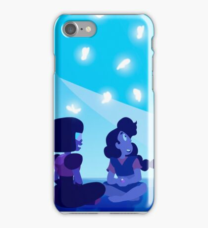 Garnet and Stevonnie in mindful education  iPhone Case/Skin
