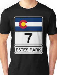 CO-7 Estes Park Colorado Unisex T-Shirt