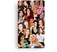 The Women of SNL collage Canvas Print