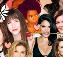 The Women of SNL collage Sticker