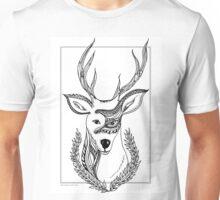 Patterned Deer Unisex T-Shirt