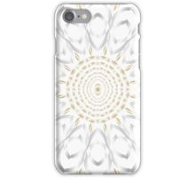 Gold and Silver Mandala iPhone Case/Skin
