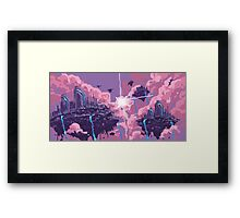 Pink Matter Framed Print