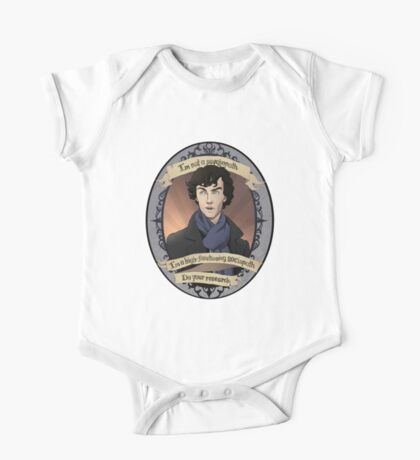 Sherlock - BBC Sherlock One Piece - Short Sleeve