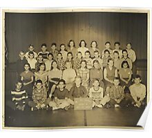 Oct. 22, 1952 No.46 School, Grade 6, Marion, Grant County, Indiana Poster