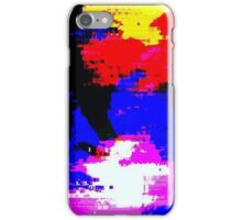 Glitch - Glow - MatchaAlan iPhone Case/Skin