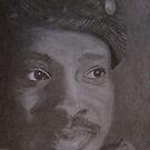 Portrait Of An Artist...Timothy Orikri by Lorelle Gromus