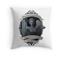 Weeping Angel - Doctor Who Throw Pillow