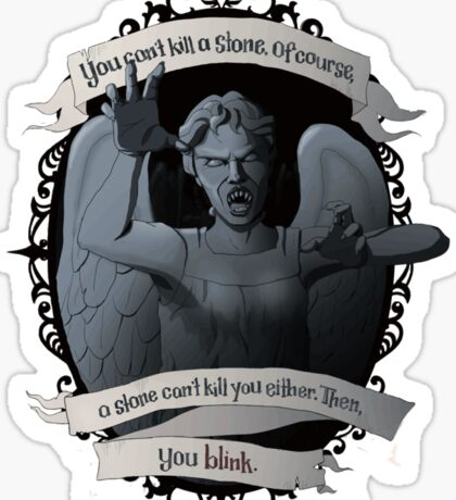 Weeping Angel - Doctor Who Sticker