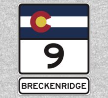 CO-9 Breckenridge Colorado One Piece - Long Sleeve