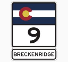 CO-9 Breckenridge Colorado Kids Tee