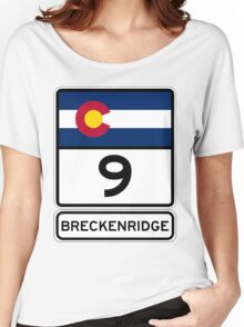 CO-9 Breckenridge Colorado Women's Relaxed Fit T-Shirt