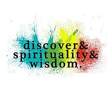 discover spirituality wisdom Photographic Print