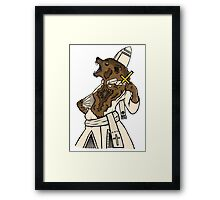 Pope Werewolf IV Framed Print