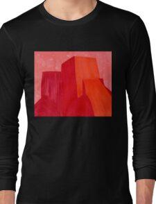 Saint Francis Church original painting Long Sleeve T-Shirt