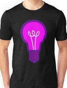 Violet Light Bulb Unisex T-Shirt