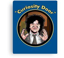 Curiosity Door Canvas Print