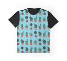 Plant Doodles Graphic T-Shirt