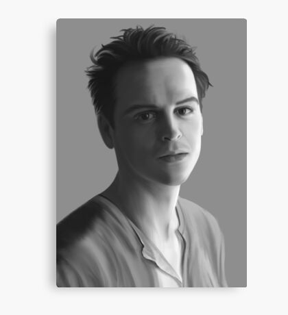 Andrew Scott as Jim Moriarty Canvas Print
