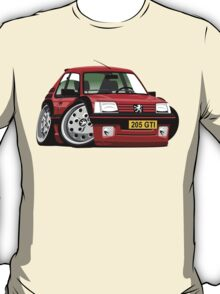 Peugeot 205 GTI caricature red T-Shirt